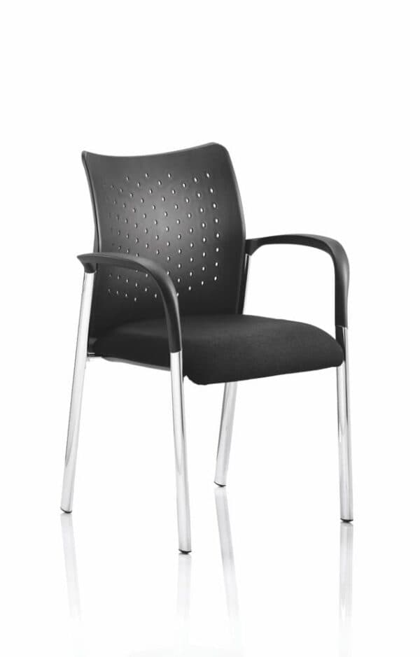 Academy-Visitor-Chair-Black-With-Arms