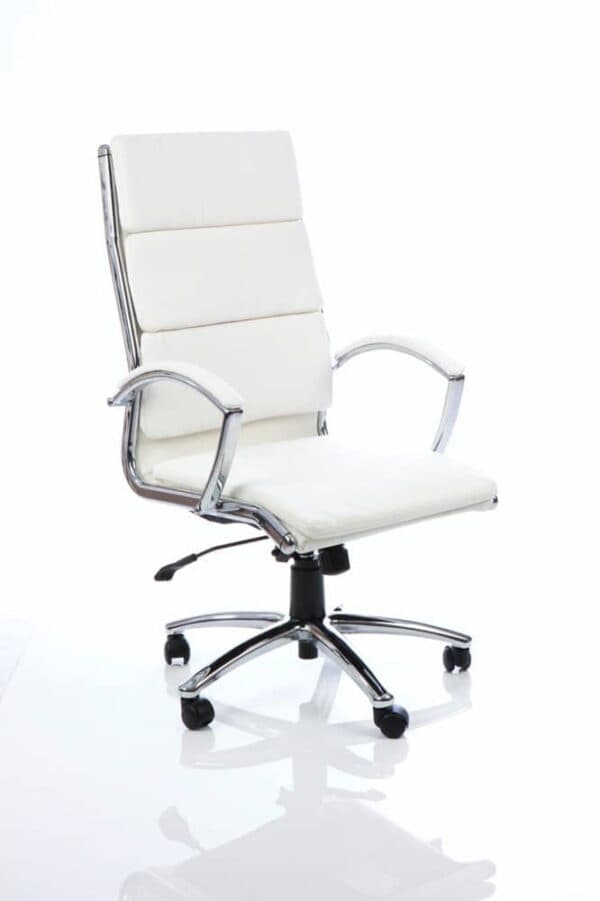 Classic-Executive-Chair-High-Back-White-With-Arms