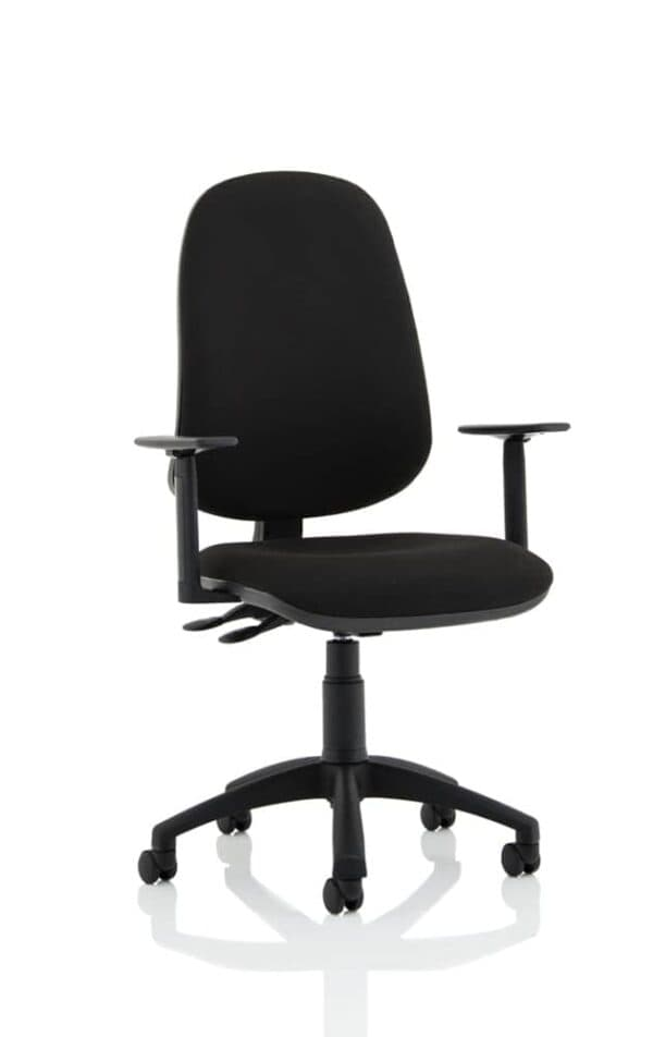 Eclipse-Xl-Lever-Task-Operator-Chair-Black-With-Height-Adjustable-Arms