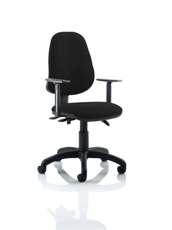 Eclipse-Iii-Lever-Task-Operator-Chair-Black-With-Height-Adjustable-Arms